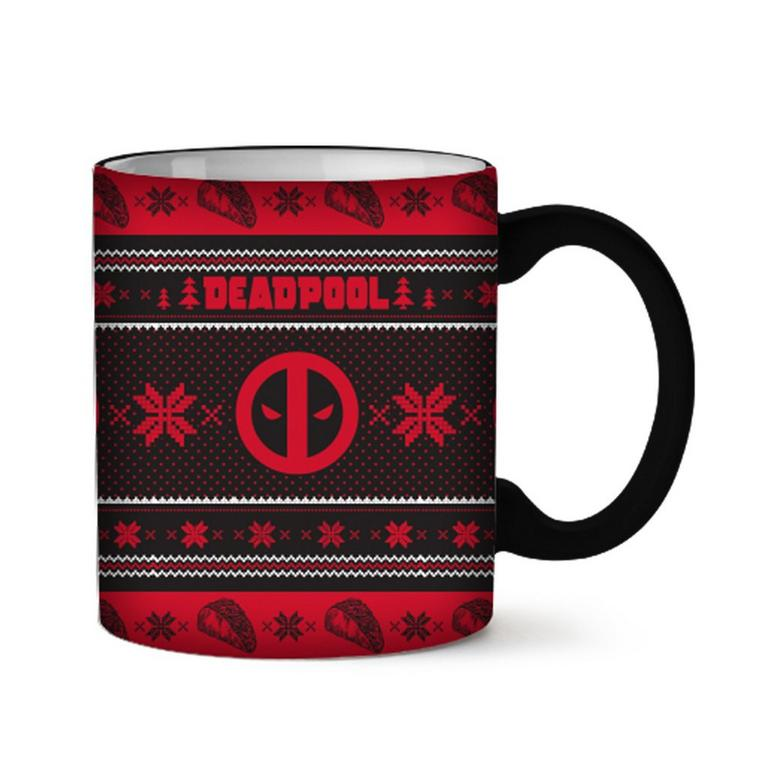 Deadpool: Christmas Sweater Ceramic Mug - Only at GameStop