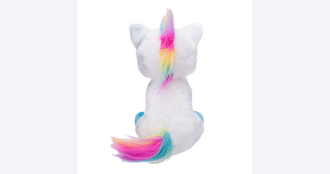 Feisty Pets Rainbow Unicorn Plush Only at GameStop