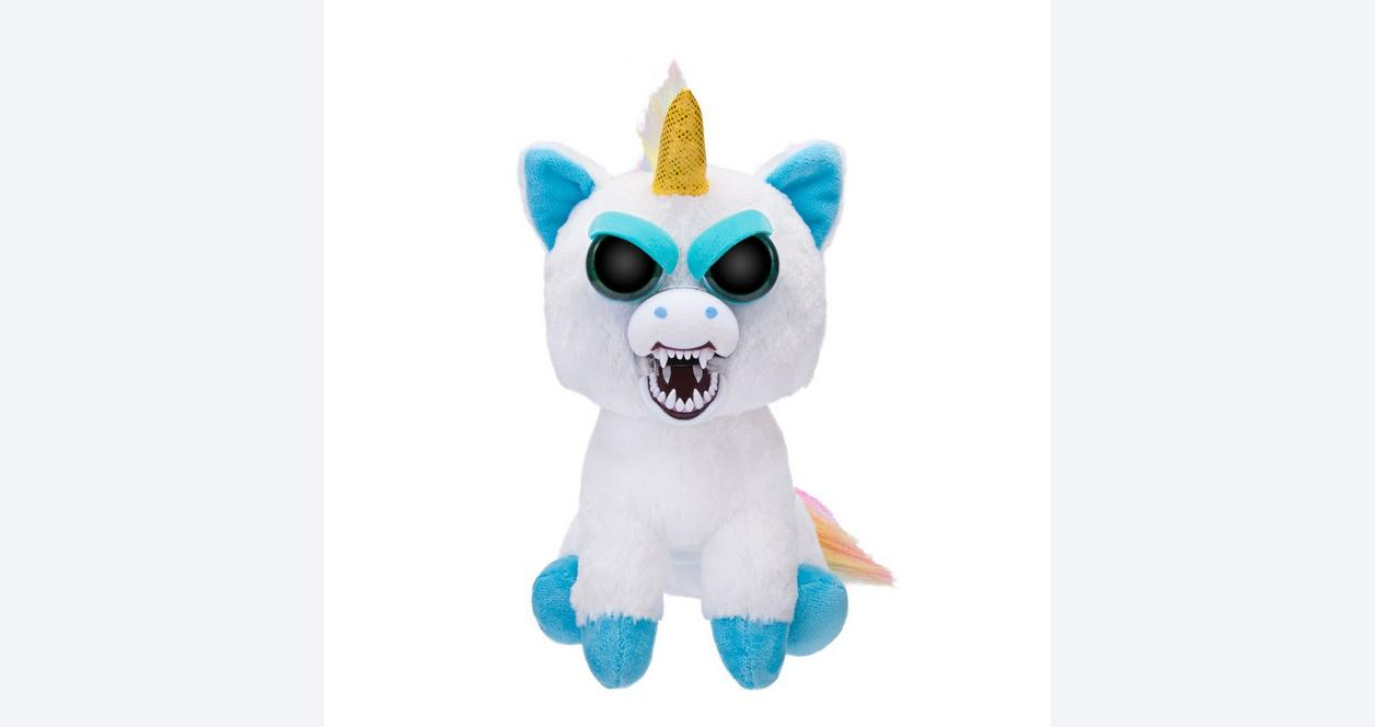 Feisty Pets: Rainbow Unicorn Plush - Only at GameStop