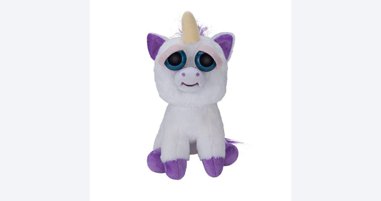 Feisty Pets Glenda Glitterpoop Unicorn Plush
