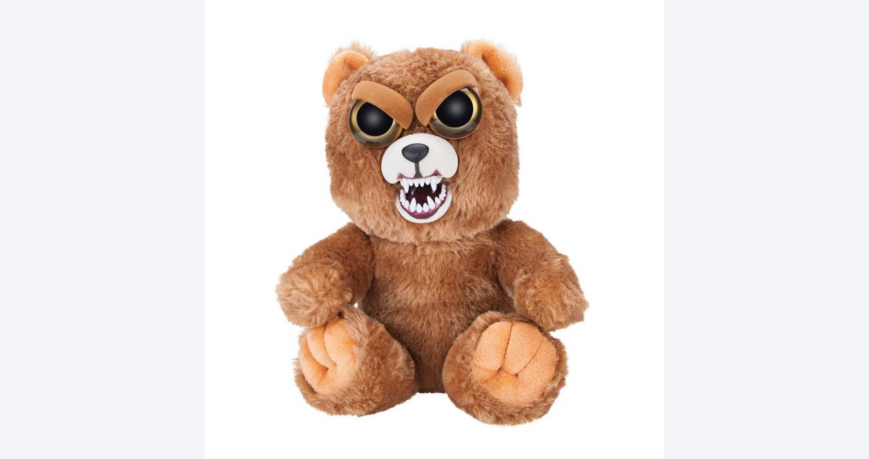 Feisty Pets Brown Bear Plush