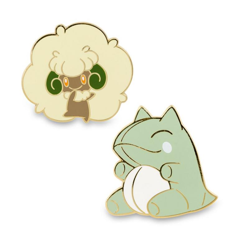Pokemon Whimcott and Substitute Pins
