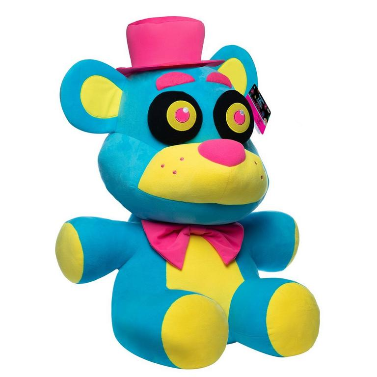 Five Nights at Freddy's Blacklight Freddy Plush Only at GameStop
