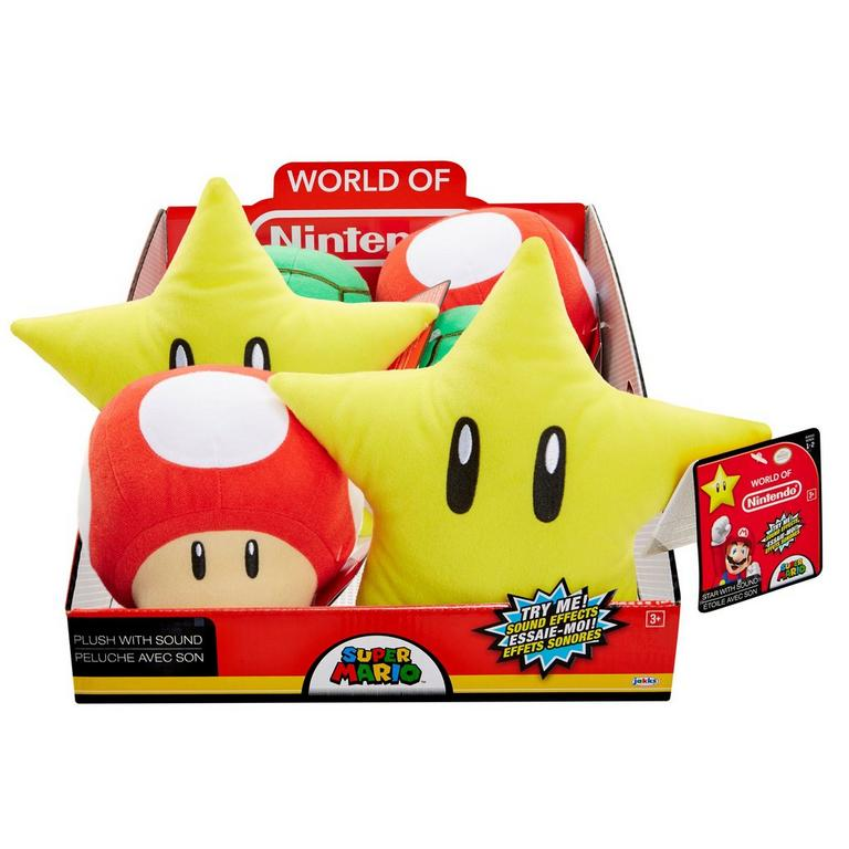 Nintendo Plush with Soundeffects Assortment