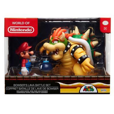 Super Mario Bros. Bowser's Lava Battle Set