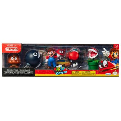 Super Mario Odyssey World of Nintendo Action Figure 5 Pack Only at GameStop