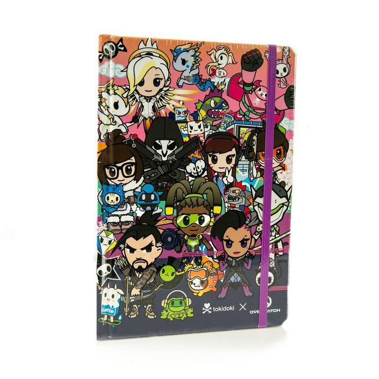 Overwatch and Tokidoki Group Journal