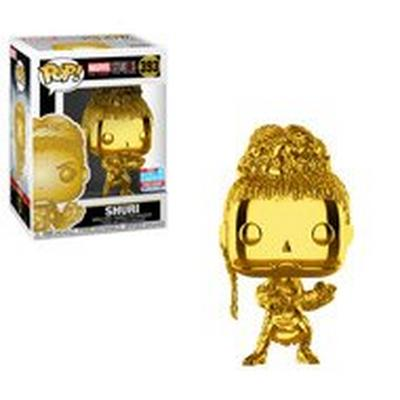 POP! Marvel: The First 10 Years - Shuri (Gold Chrome) - 2018 Fall Convention Exclusive