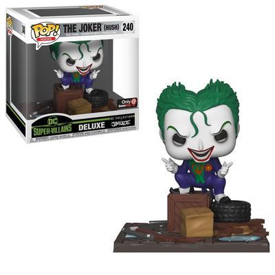 POP! Moments: DC Supervillains - The Joker (Hush) Jim Lee - Only at GameStop