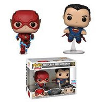 POP! Heroes: DC Justice League The Flash and Superman Fall Convention 2018
