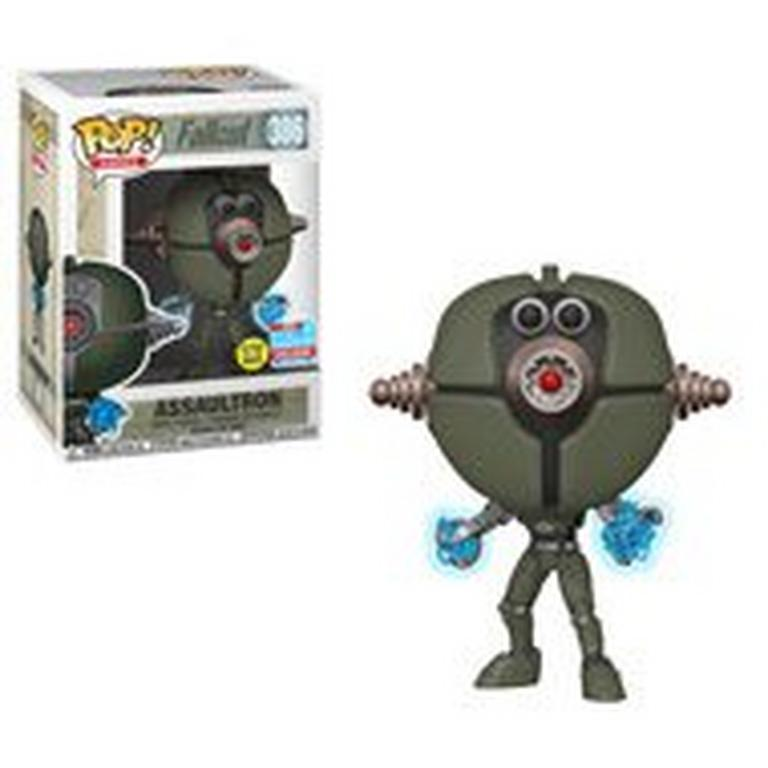 POP! Games: Fallout - Assaultron (Glows in the Dark) - 2018 Fall Convention Exclusive