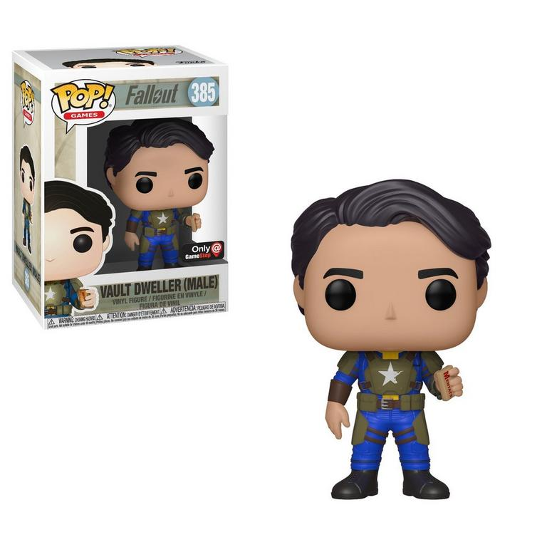 POP! Games: Fallout Vault Dweller Male Armor Only at GameStop