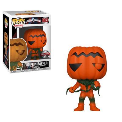 POP! TV: Power Rangers - Pumpkin Rapper - Only At GameStop