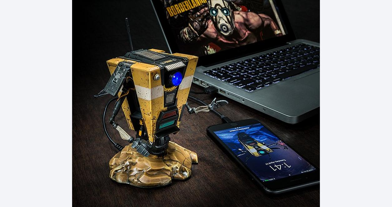 Borderlands Claptrap Talking USB Hub