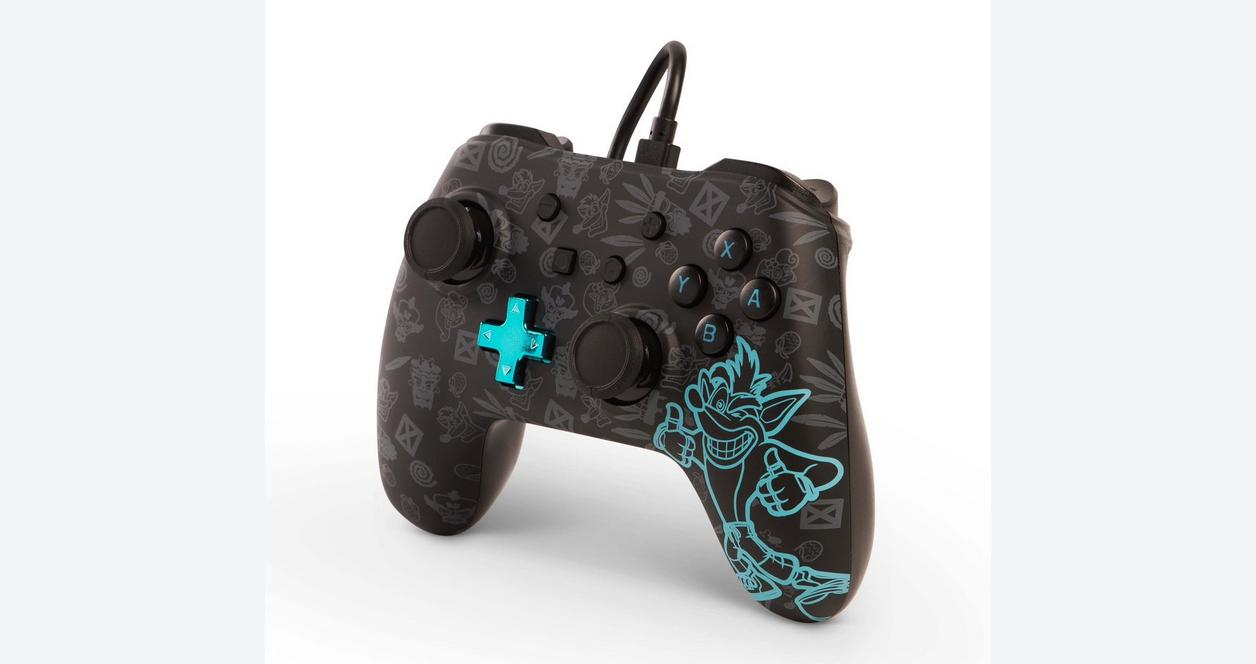 Crash Bandicoot Wired Controller for Nintendo Switch Only at GameStop
