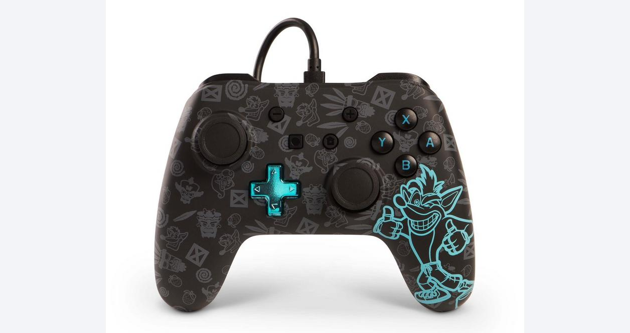 Nintendo Switch Crash Bandicoot Wired Controller Only at GameStop