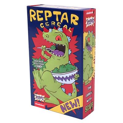 Rugrats Reptar Cereal Tinned Candy