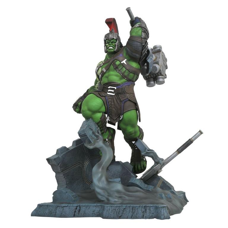 Thor Ragnarok Gladiator Hulk Marvel Milestones Statue Gamestop