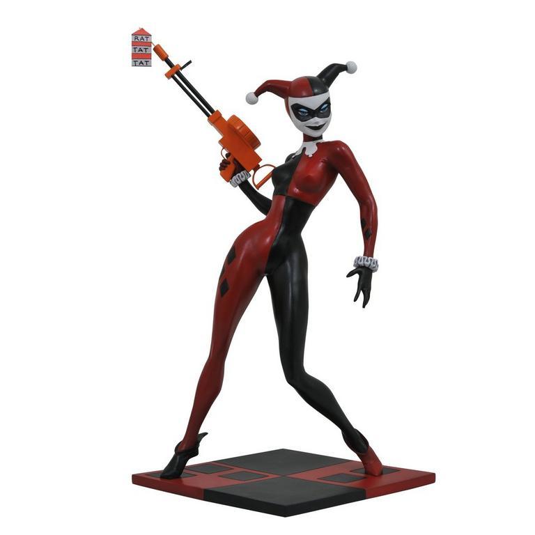 DC Premier Batman: The Animated Series- Harley Quinn Statue