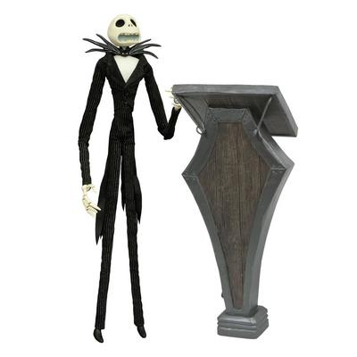 Nightmare Before Christmas: Jack Coffin Doll with Podium