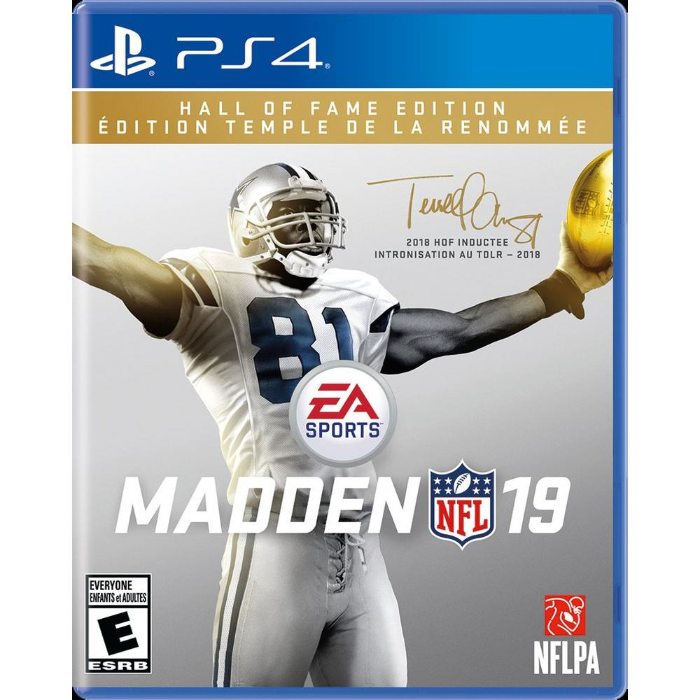 madden hall of fame edition price