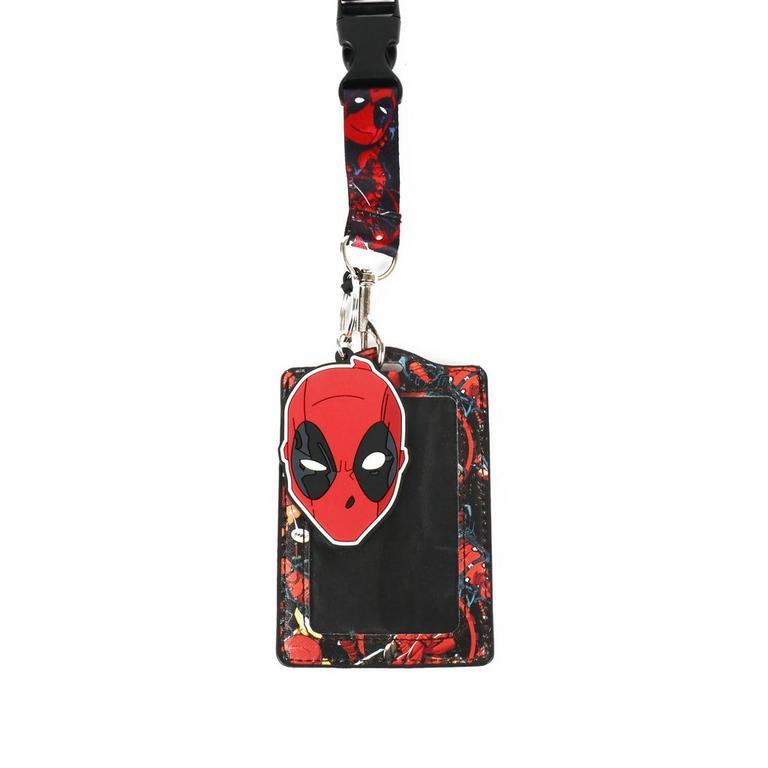 Marvel Deadpool Lanyard Card Holder