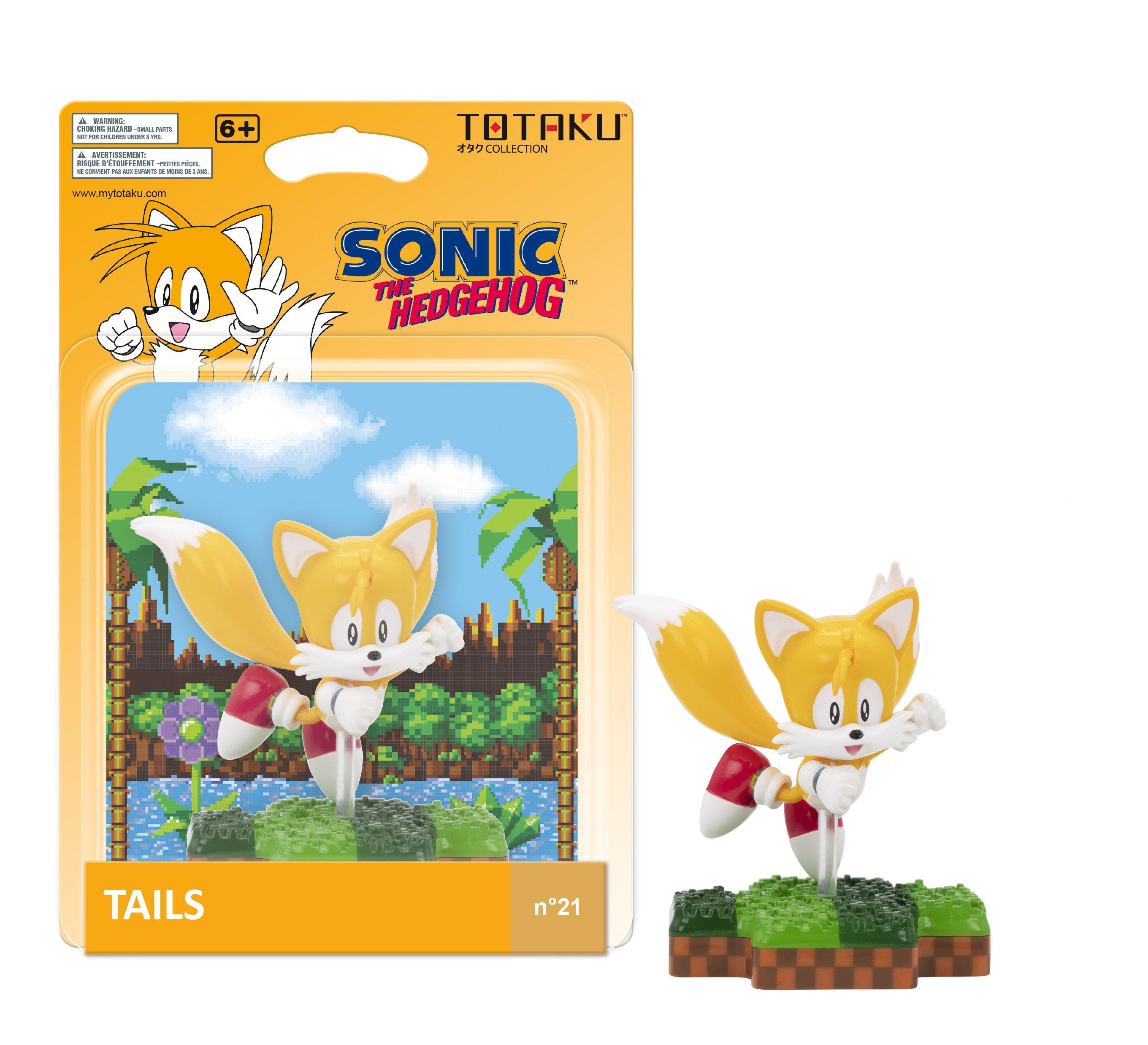 Sonic The Hedgehog Tails Totaku Collection Figure Only At Gamestop Gamestop