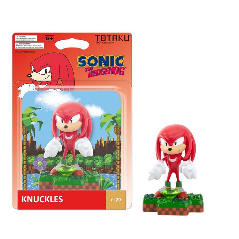Sonic the Hedgehog Knuckles TOTAKU Collection Figure Only at GameStop