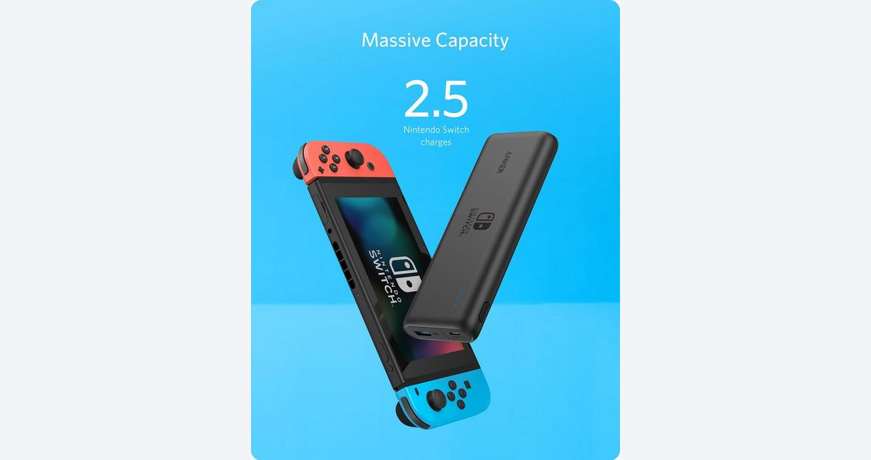 Anker Power Core 20100 USB-C for Nintendo Switch
