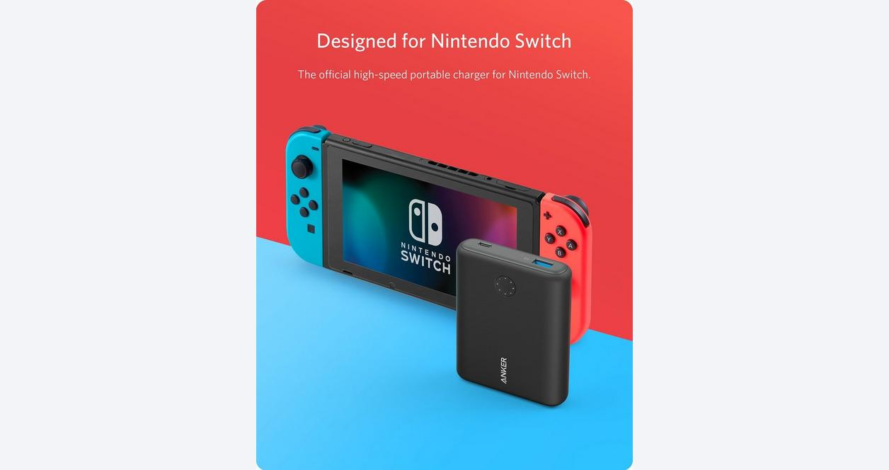 Anker PowerCore 13400 for Nintendo Switch