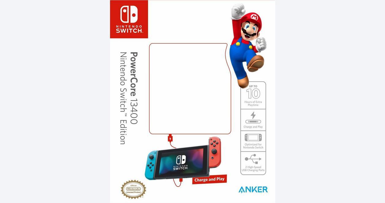 Nintendo Switch Anker PowerCore 13400