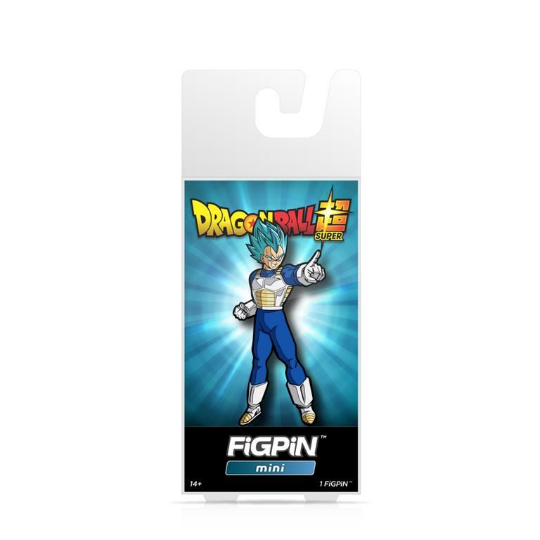 Dragon Ball Super - Super Saiyan God Super Sayian Vegeta FiGPiN Mini