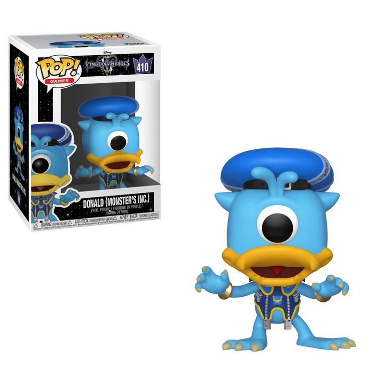 POP! Disney:Kingdom Hearts III - Donald - Monsters Inc.