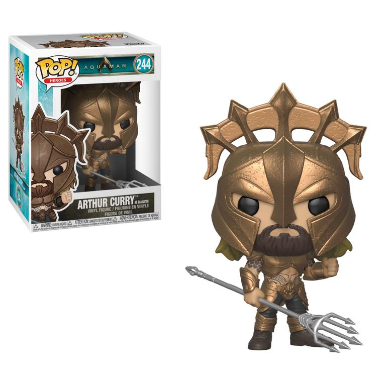 POP! Heroes: Aquaman Arthur Curry as Gladiator