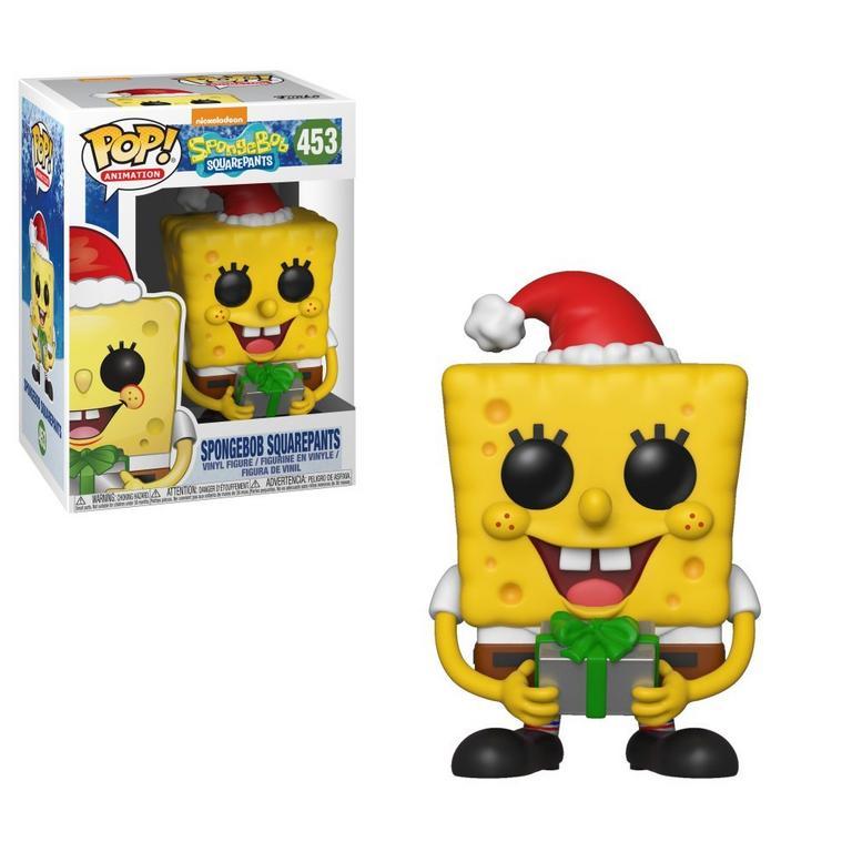 Spongebob Christmas.Pop Animation Spongebob Squarepants Spongebob Christmas Gamestop