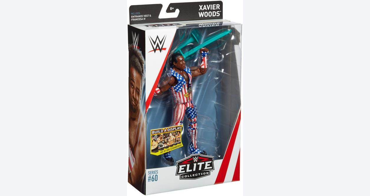 WWE Elite Collection Series # 60 - Xavier Woods
