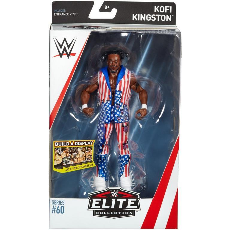 WWE Elite Collection Series # 60 - Kofi Kingston