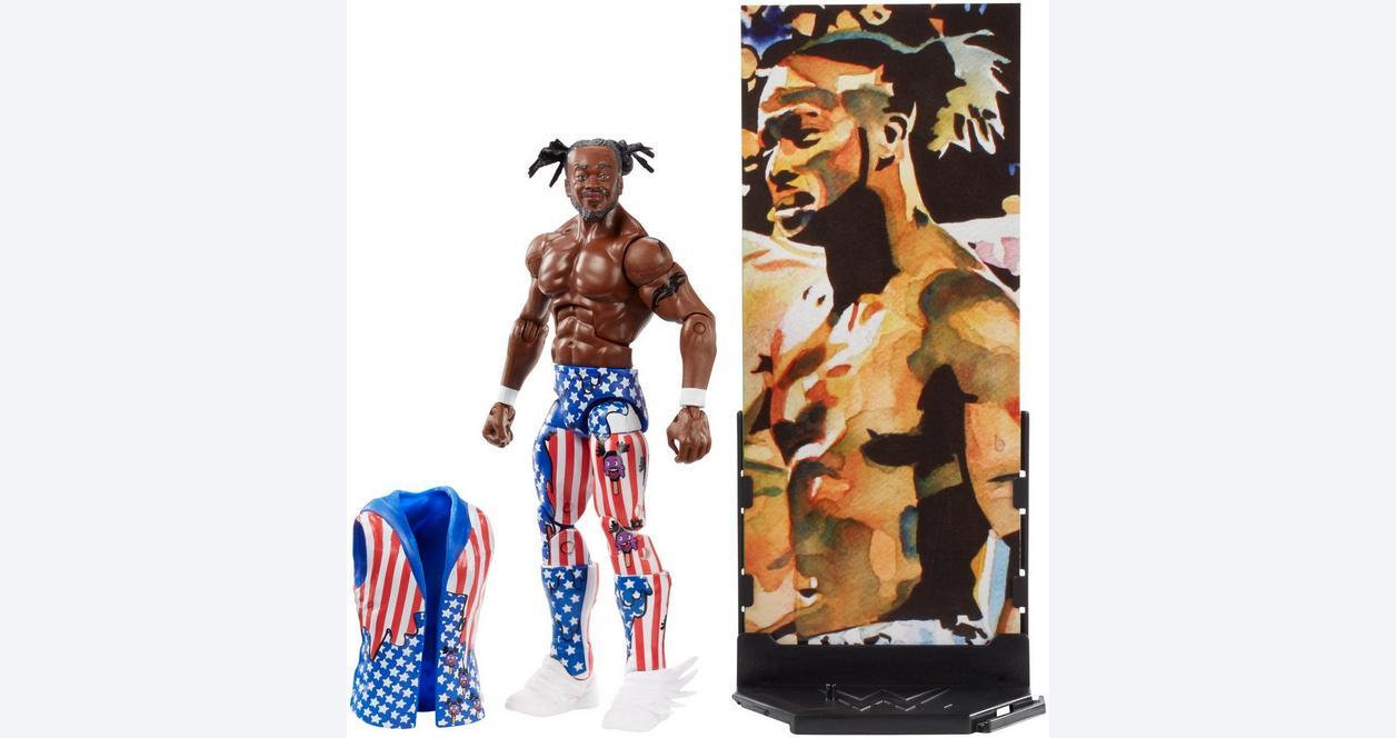 WWE Kofi Kingston Elite Collection Series 60 Action Figure