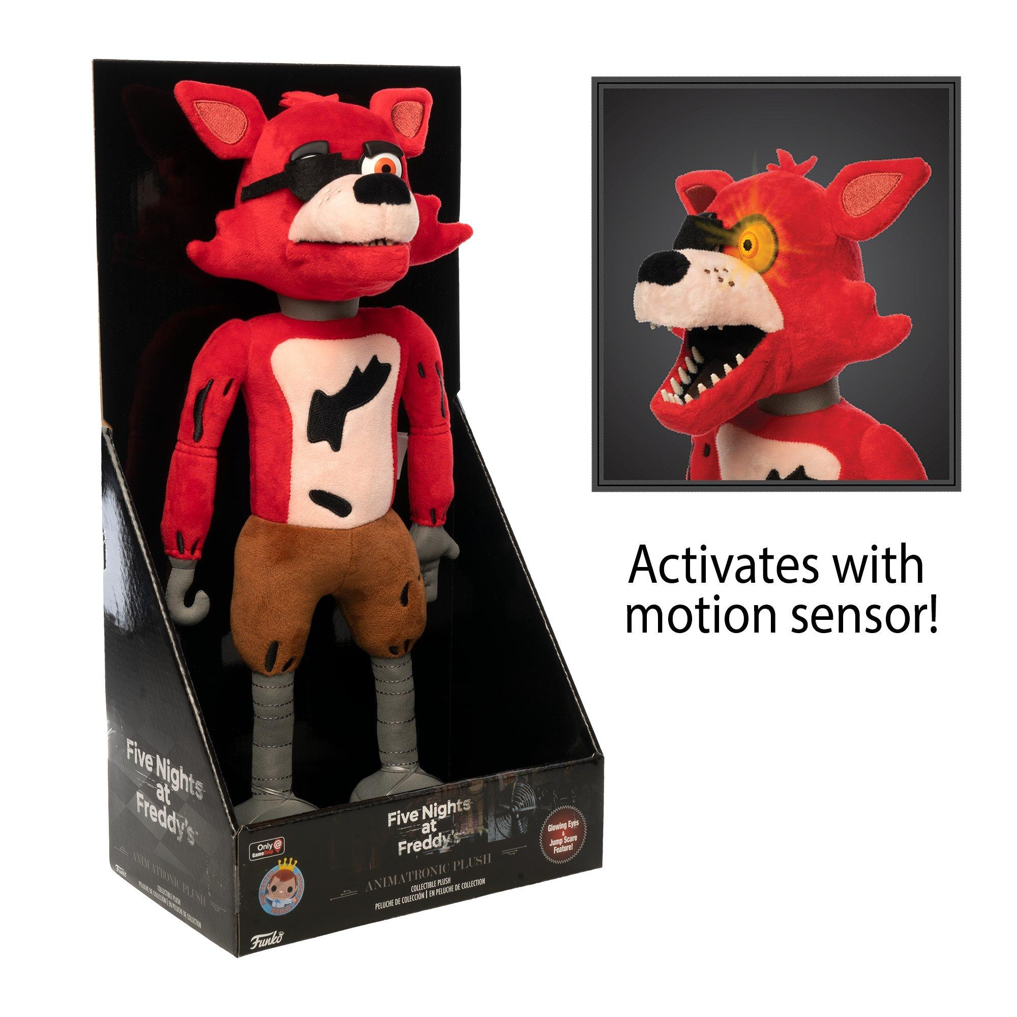 5 Nights At Foxys five nights at freddy's animatronic foxy plush only at gamestop   gamestop