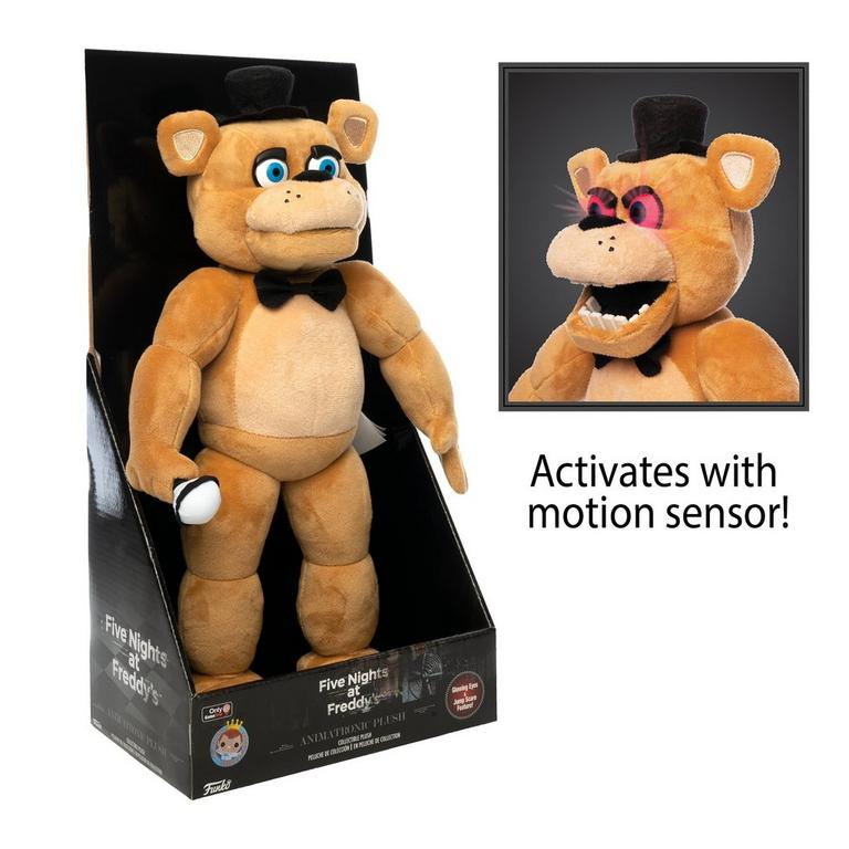 Funko Plush: Five Nights at Freddy's - Animatronic Freddy - Only At GameStop