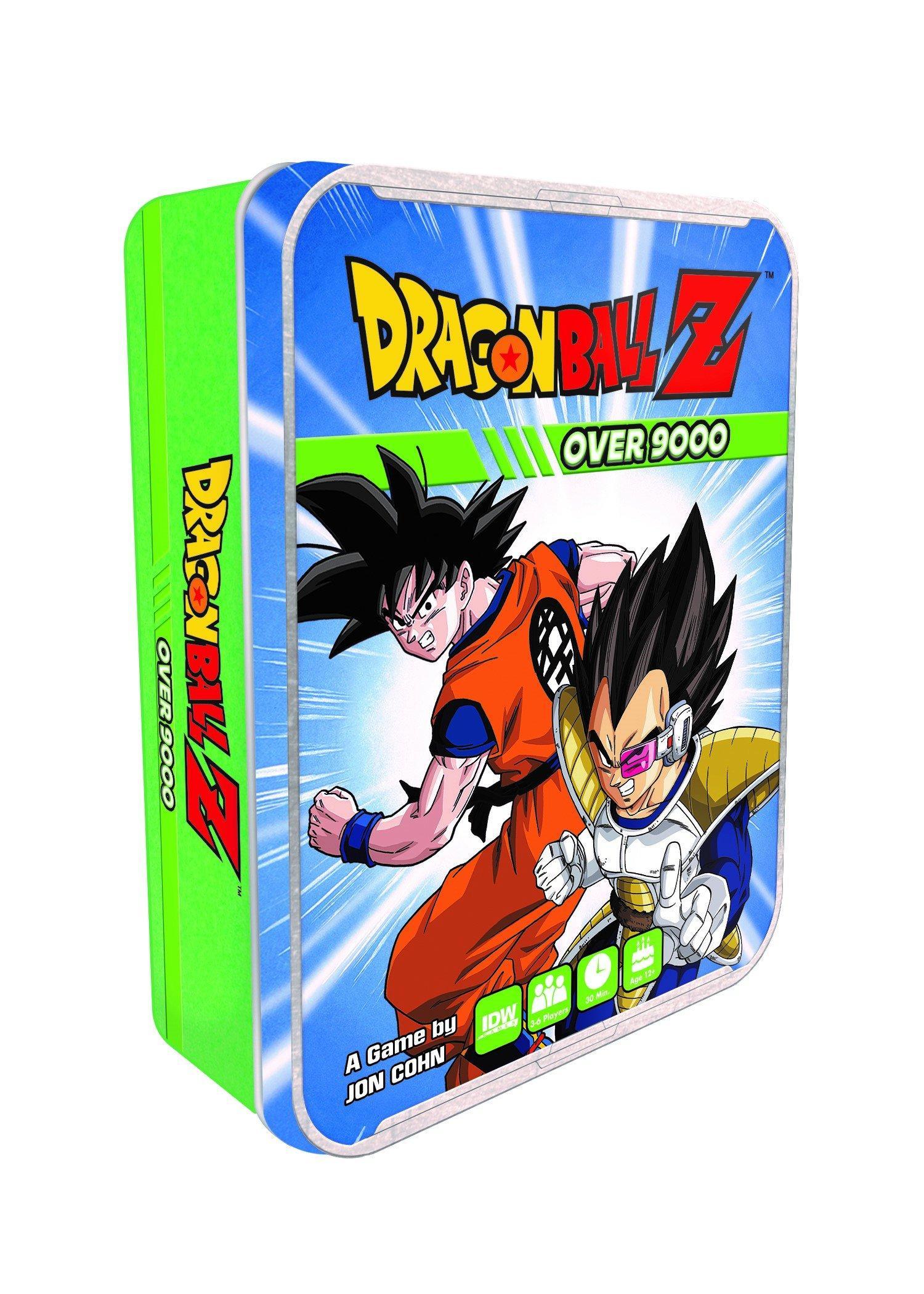 Dragon Ball Z Over 9000 Game Tin Gamestop