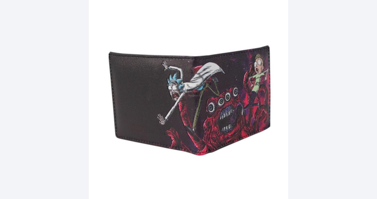 Rick and Morty Space Alien Bifold Wallet