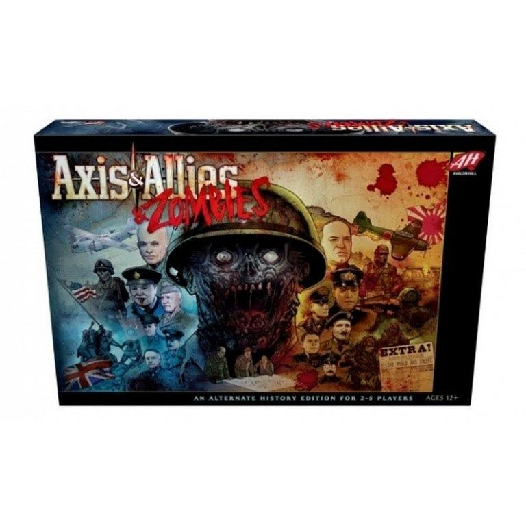 Axis & Allies & Zombies Board Game