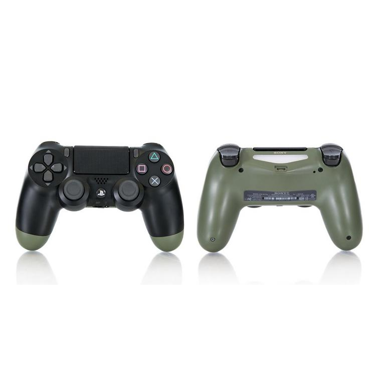 Sony DUALSHOCK 4 Black and Olive Recertified Custom Wireless Controller