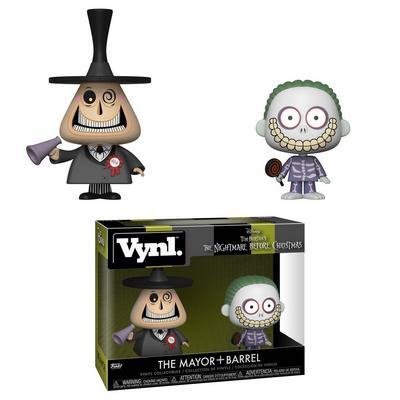 VYNL: The Nightmare Before Christmas - Mayor and Barrel