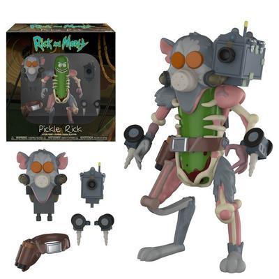 Action Figure: Rick & Morty - Pickle Rick
