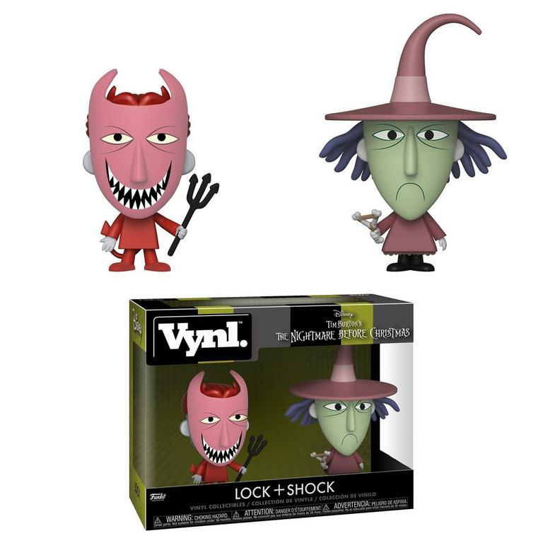 VYNL: The Nightmare Before Christmas Lock and Shock 2 Pack