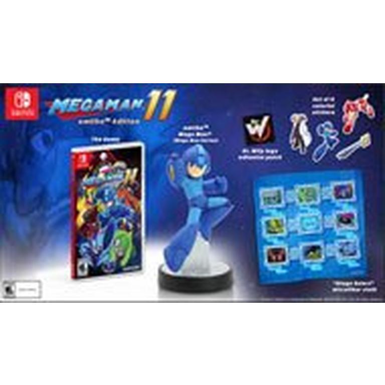 Mega Man 11 amiibo Edition Only at GameStop