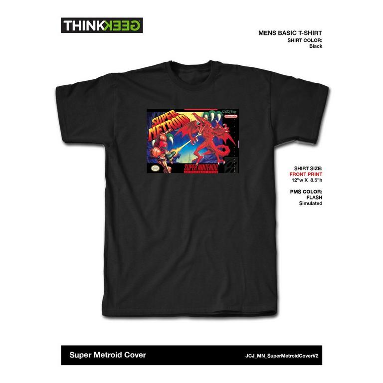 Nintendo SNES Super Metroid T-Shirt