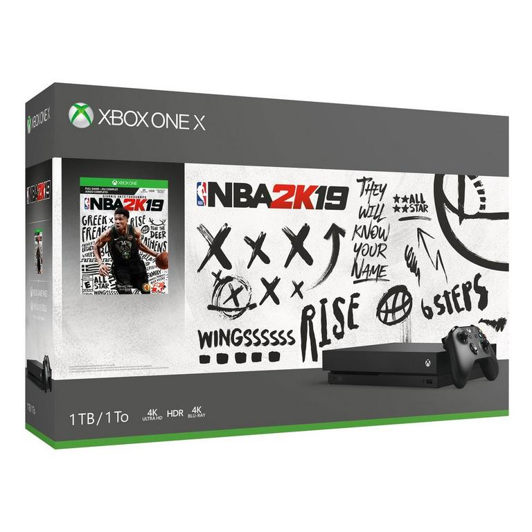 Xbox One X NBA 2K19 Bundle 1TB